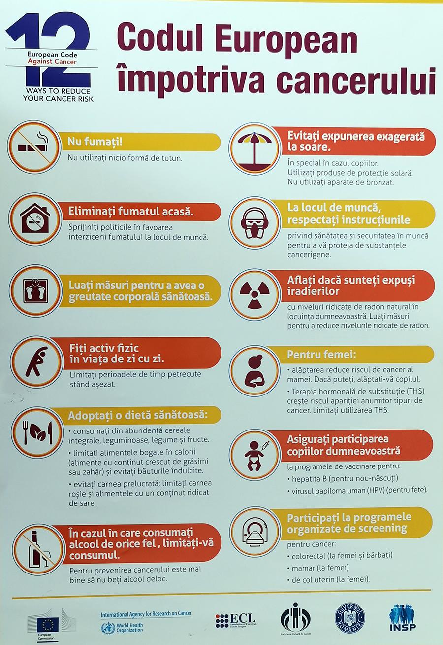 DSP Vrancea și campania de prevenire a apariției cancerului post thumbnail