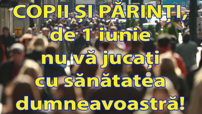 De 1 iunie, DSP Vrancea recomandă: Nu vă jucați cu sănătatea dumneavoastră! post thumbnail