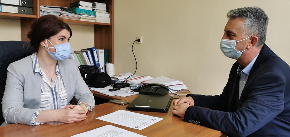 Întâlnire între conducerea DSP Vrancea și managerul interimar al Spitalului Județean de Urgență Focșani post thumbnail