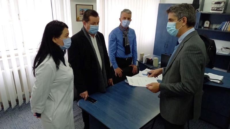 Ionel Dancă, șeful Cancelariei Premierului României, în vizită la DSP Vrancea post thumbnail