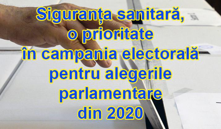 Măsuri de siguranță sanitară  în Ordinul comun al Ministerului Sănătății  și Ministerului Afacerilor Interne,  privind desfășurarea campaniei electorale pentru alegerile parlamentare din acest an post thumbnail