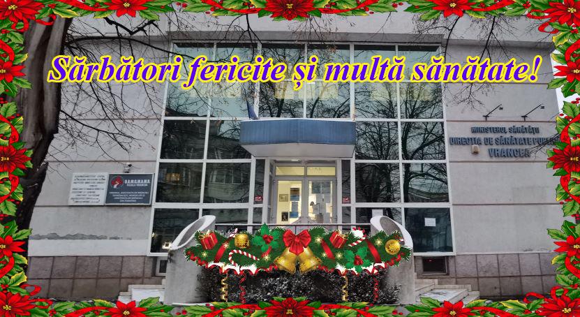 DSP Vrancea  – recomandări pentru desfășurarea sărbătorilor de iarnă fără probleme de sănătate post thumbnail