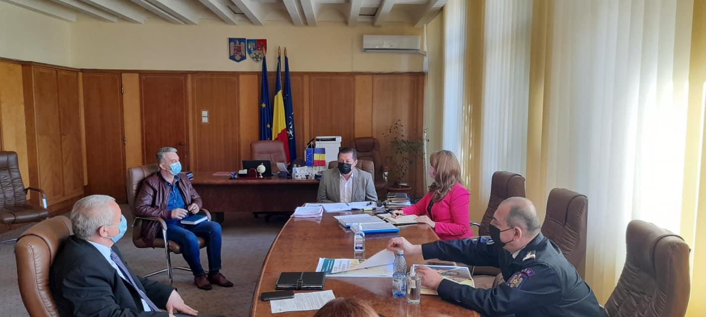 """DSP Vrancea, la ședința Grupului Tehnic """"Operativ COVID-19"""" din 18 mai 2021 post thumbnail"""