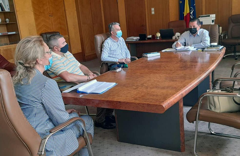 DSP Vrancea, la ședința de lucru pe tema vaccinării antiCOVID-19 post thumbnail