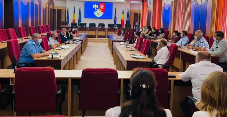 "DSP Vrancea, la ședința grupului ""Operativ Covid-19"" post thumbnail"