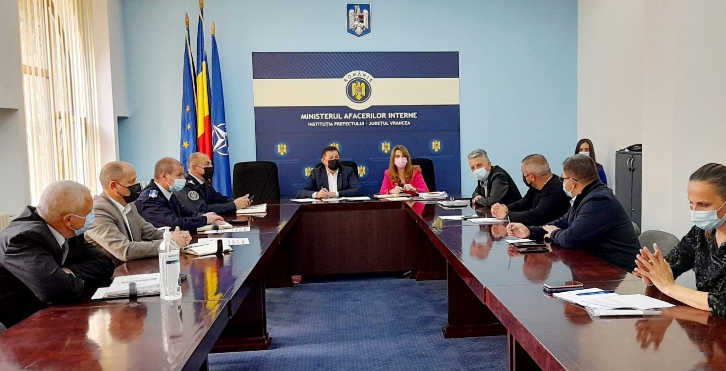 "DSP Vrancea, la ședința grupului operativ ""COVID-19"" post thumbnail"